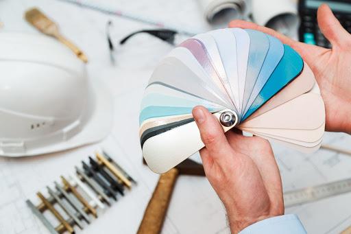 Colour chart to help choose exterior paint